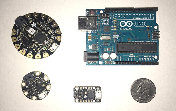 various arduino boards